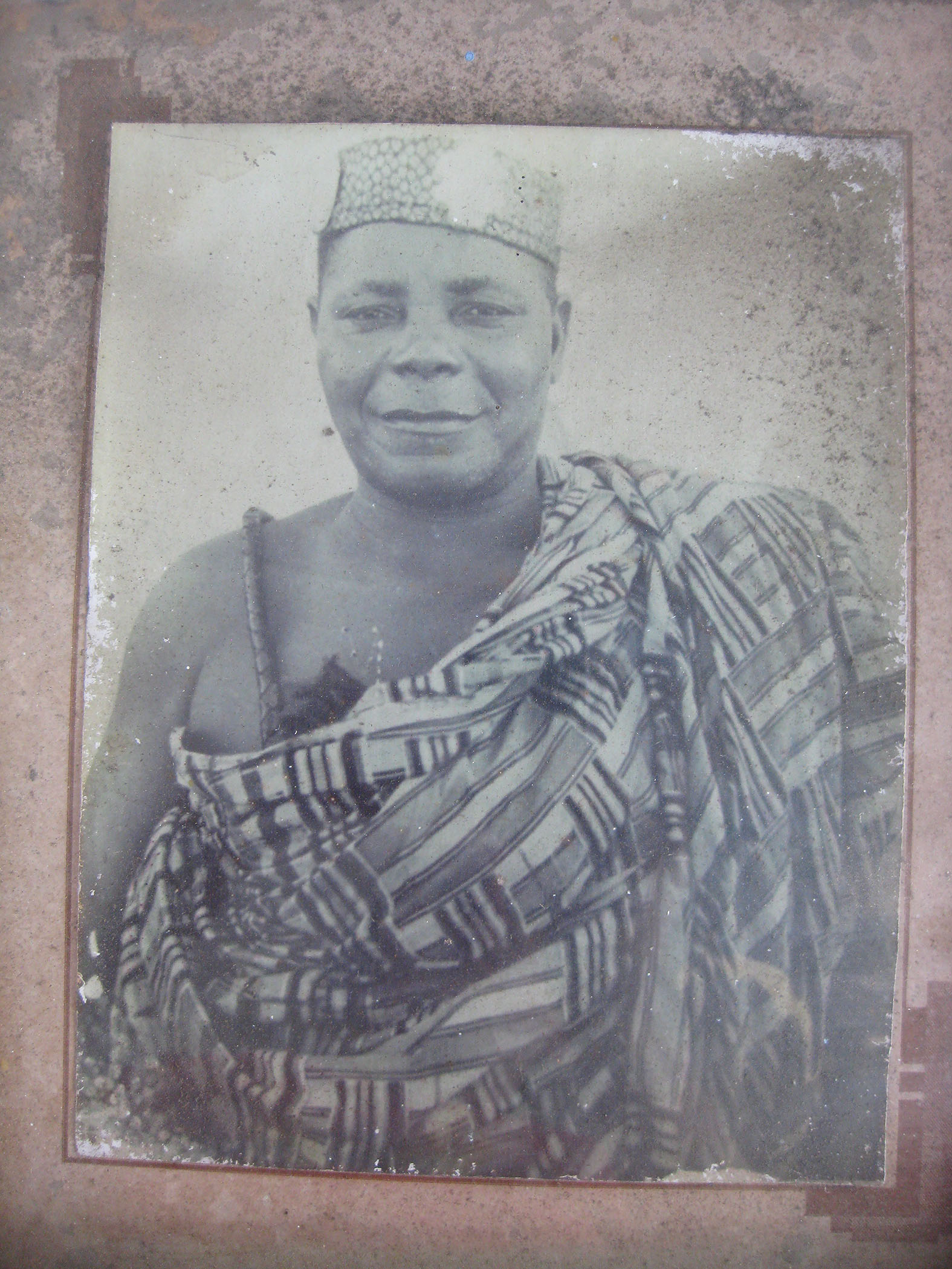 Photo of the Chief Driver of Teshie. Source: Jennifer Hart.