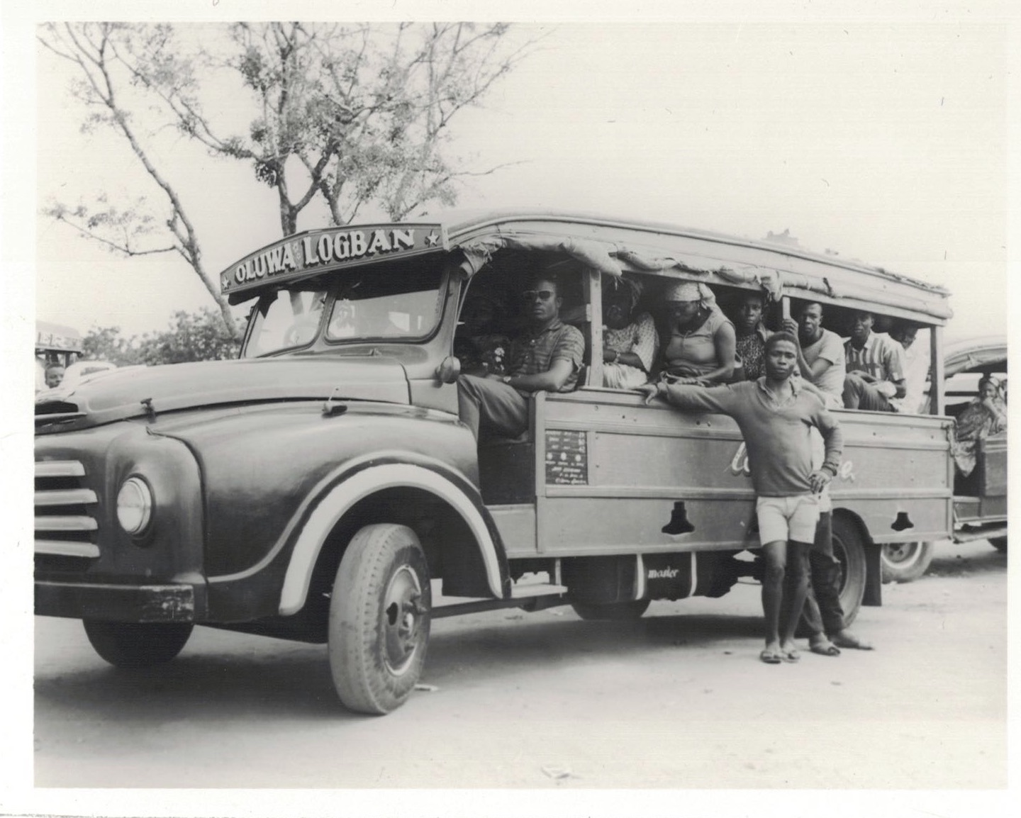 """""""Mammy trucks"""", George Alhassan, 18/7/1968. Source: R/R/9175/13, Photographic Section, Information Services Department, Ministry of Information, Accra, Ghana."""