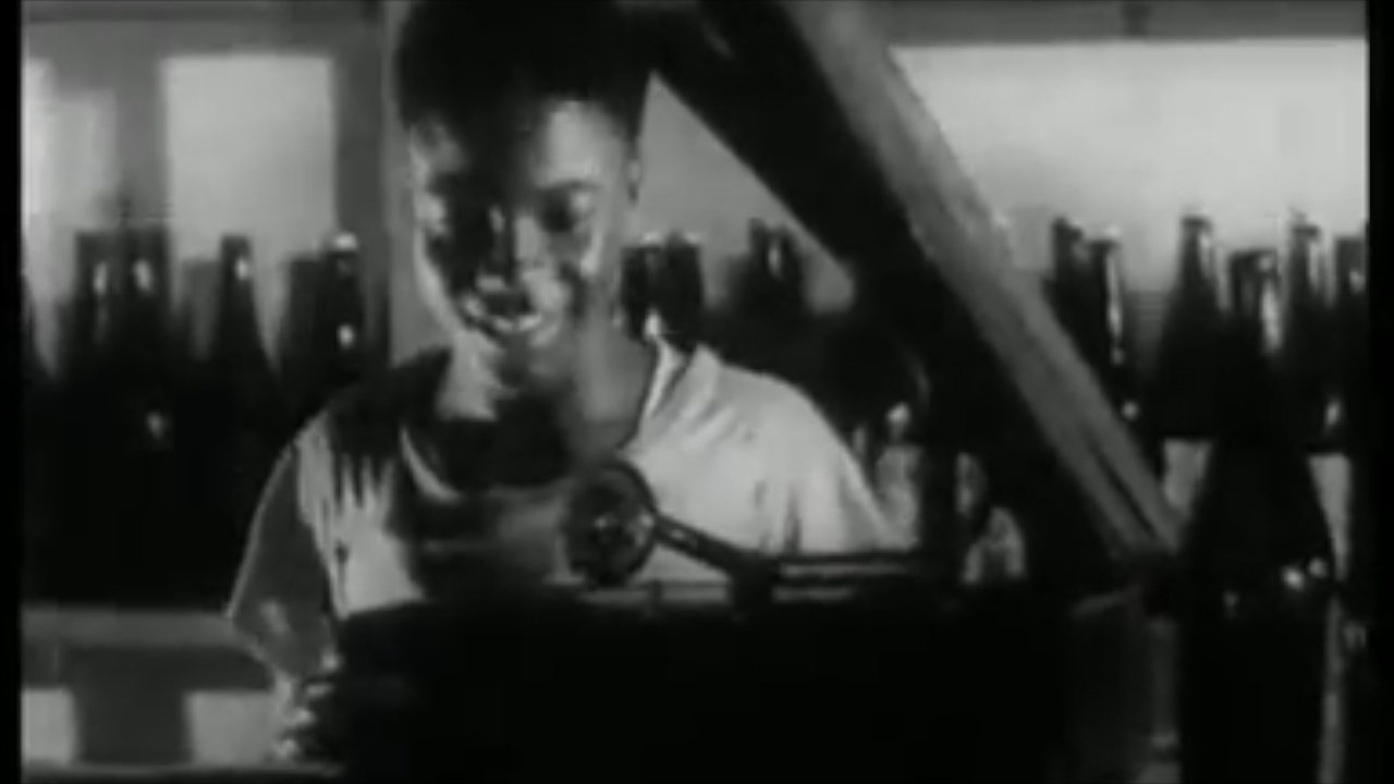 Still image, The Boy Kumasenu, Gold Coast Film Unit, 1952.